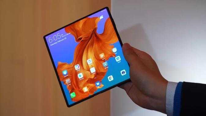 Berikut beberapa gambar Huawei Mate x