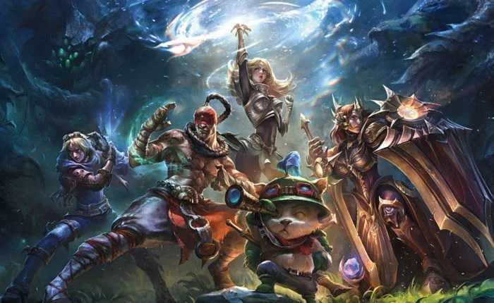 Free Accounts League Of Legends