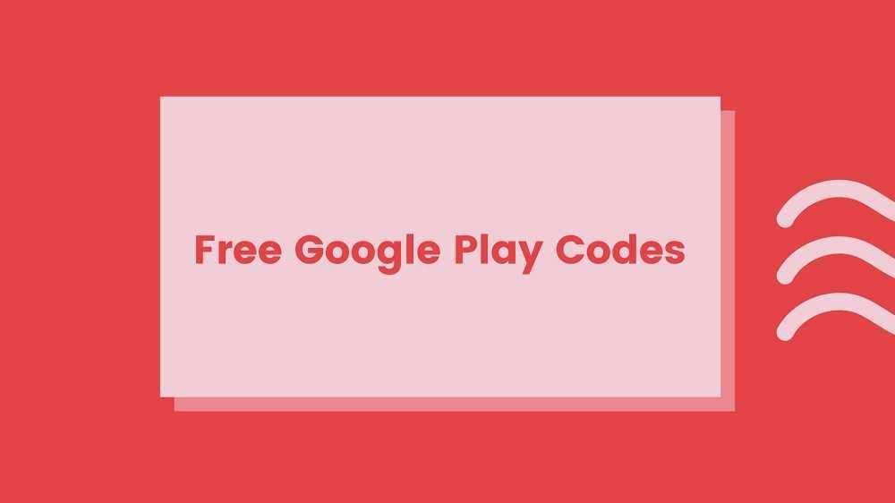 Free Google Play Codes