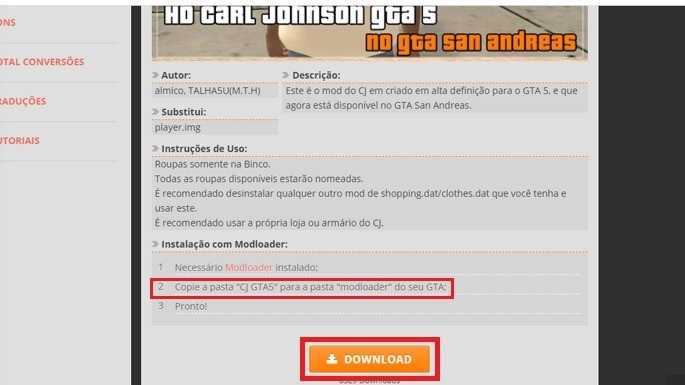 How To Install Mods In GTA San Andreas