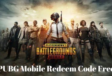 PUBG Mobile Redeem Code Free
