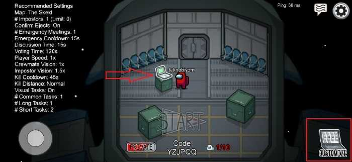 2. Go Near The Computer In The Game Launch Lobby