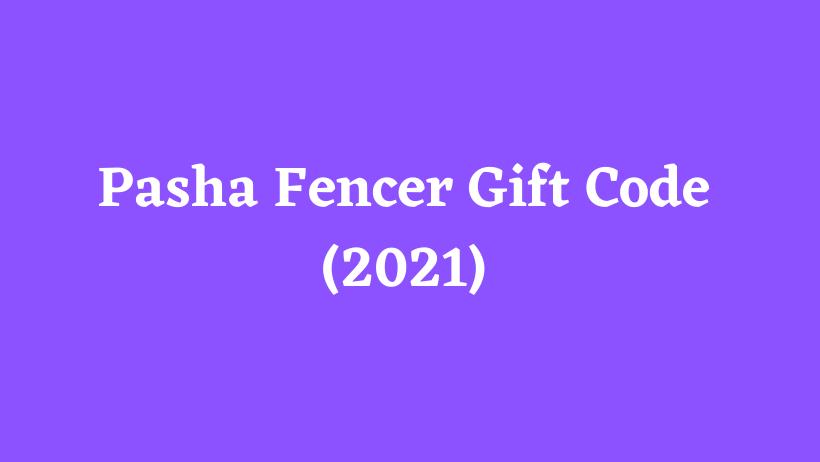 Pasha Fencer Gift Code (2021)