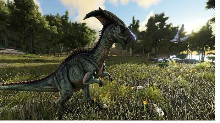 7. Train a parasaurus as soon as possible, but don't forget to protect it
