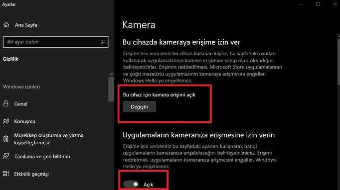 How to fix the camera won't turn on in Windows