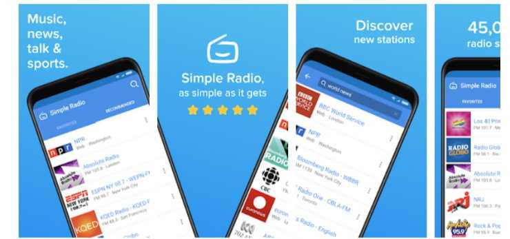 Top 6 Radio Apps for iOS and Android 2021