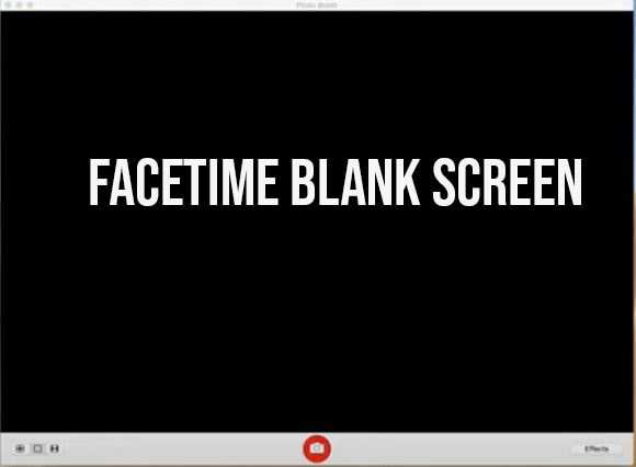 How to Fix Black Screen on FaceTime